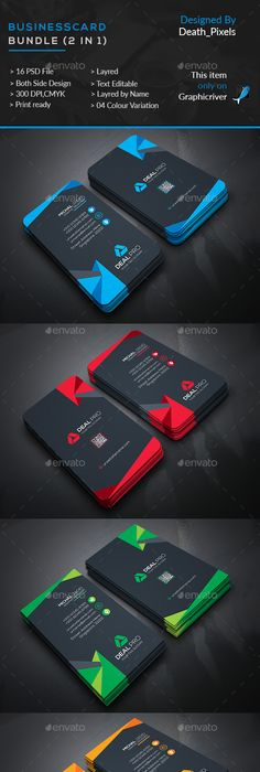 Multipurpose business id card template card templates template 2 business card templates psd download here httpgraphicriver reheart Choice Image