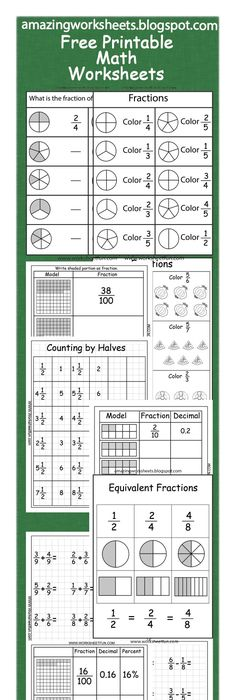Fraction Decimal Percent Chart  School Math