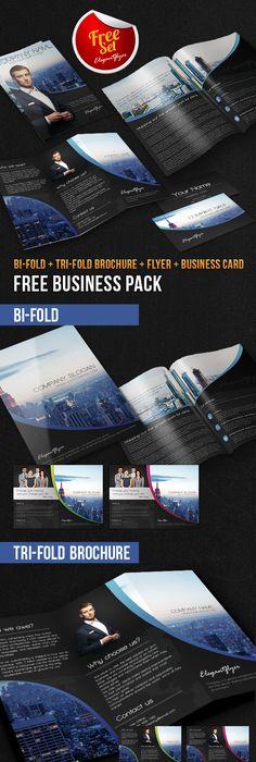 Yacht Club Brochure Pack Free Psd Template Psd Templates