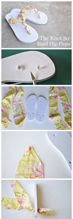 How to diy simple denim home slippers sewing slippers craft and diy knot so hard flip flops diy diy ideas diy crafts do it yourself craft clothes craft shoes diy clothes diy shoes easy crafts easy diy fashion diy craft solutioingenieria Images