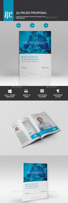 Agency Proposal Proposals, Proposal templates and Brochure template - purchase proposal templates