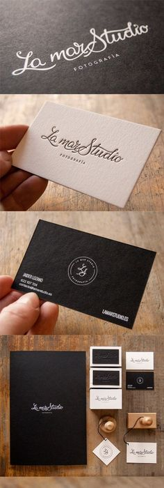 40 creative examples of photography business card designs for elegantly simple black and white typographic business card for a photographer black business reheart Images