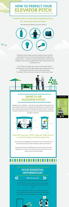 ElevatorPitchTemplateInfographic  Business    Pitch