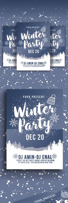 Winter Festival Flyer Winter Festival Flyer Template And Template