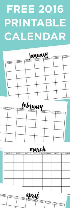 Mudpies And MakeUp Free Calendar Journal Printables   Pinteres