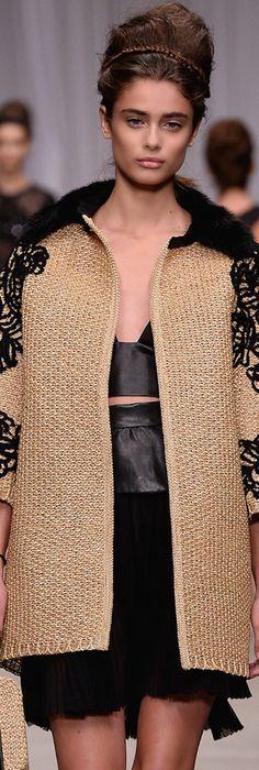 Embroidery Leather Sleeveless Blazer Spring/summerErmanno Scervino bgFZn7Z