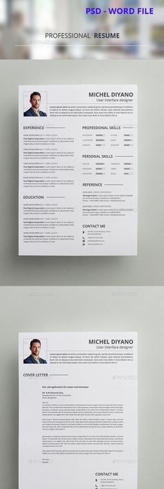 Resume Template Template, Icons and Cv template - download resume template