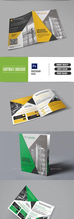 Outstanding And Modern Brochure Design Ideas  Brochures