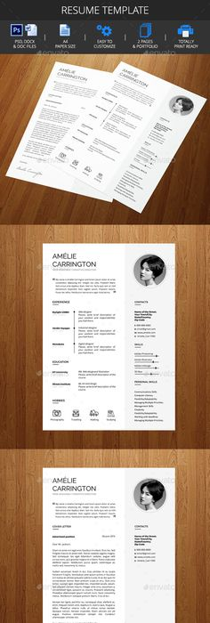 Typographic Resume Design  This Page Has A Lot Of Examples Of