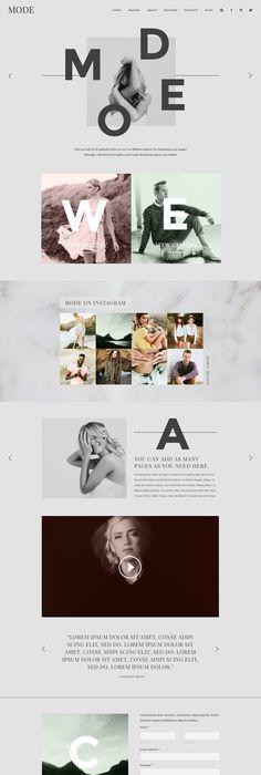 Montgomery - Showit Premium Photography Website Template | Design ...