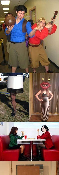8 Last-Minute DIY Halloween Costumes Of Music Stars! DIY Halloween - different halloween costume ideas