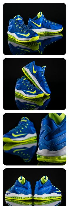 Add a pop of cobalt to your shoe game tomorrow with the latest LeBron XI  Low