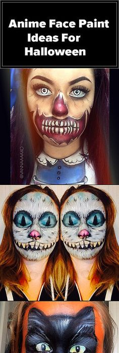 Daughter of Frankenstein!! Green monster bride of frankenstein skull - face painting halloween makeup ideas