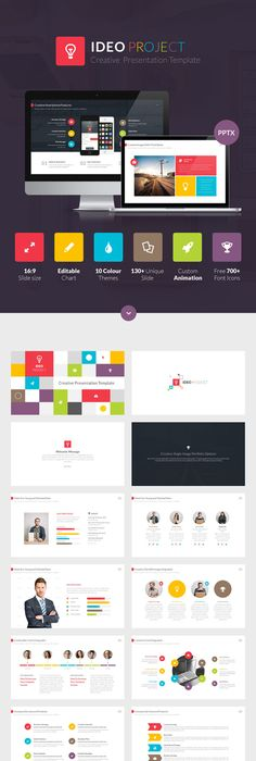 Ux Modera Presentation Template For Keynote Presentation Templates