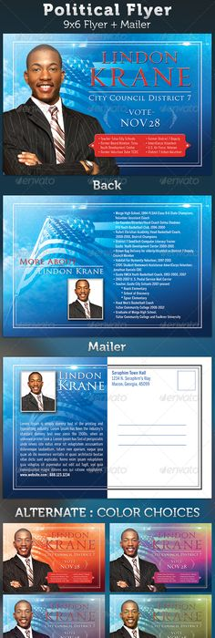 Political Campaign Brochure Designs Political Campaign Tri Fold - Political campaign brochure template