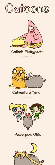 how to draw pusheen the cat step by step