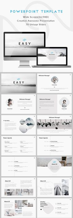 Eris  Creative Powerpoint Template Marketing Clean  Download