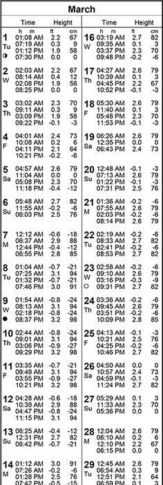 Blue Heron Bridge Tide Chart An Northeastfitness Co