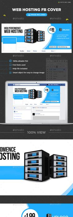 Web Hosting Facebook Cover Template Psd Design Download Http