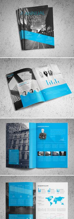 A Showcase Of Annual Report Brochure Designs To Check Out  Annual
