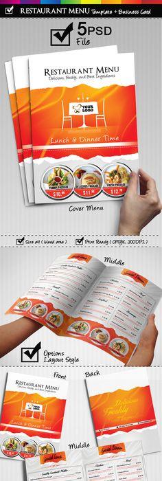 Refreshing Coffee Shop Brochure Designs  Brochures Graphic