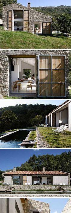 maison bois archi barres et coquet u2026 Pinteresu2026