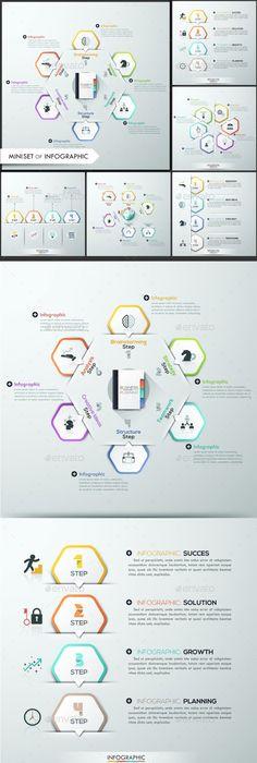 Modern Infographic Minimal Timeline Template Design Download