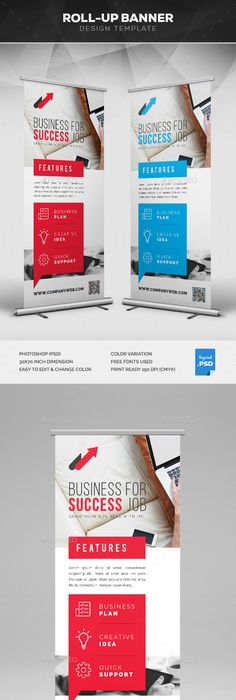 Corporate roll up banner banner template banners and template maxwellsz
