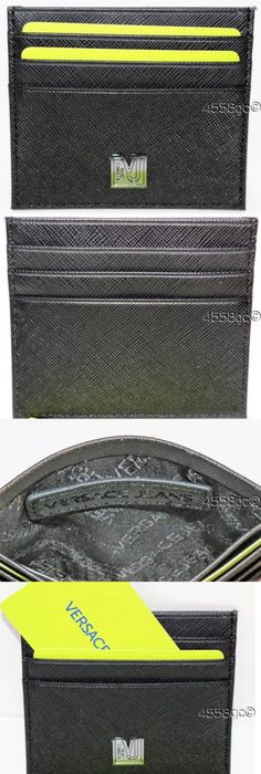 Business and credit card cases 105860 men s coach card case holder business and credit card cases 105860 versace jeans black saffiano leather credit card holder boxed colourmoves Images