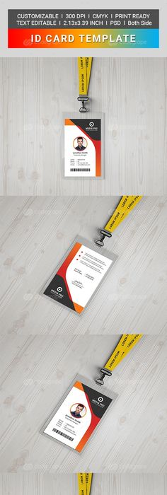 Office Id Card  Print Templates Template And Business Cards