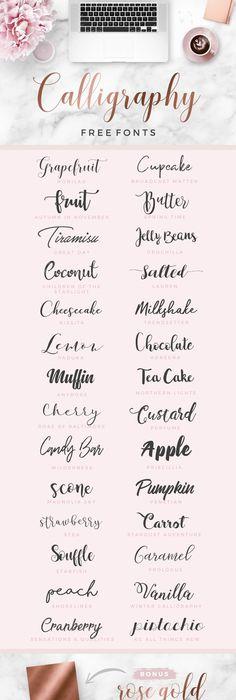 20 Best Free Fonts - Trendy Free Fonts for Download! Fonts, Free - best of wedding invitation design fonts