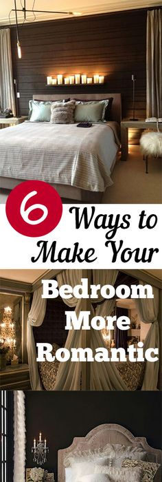 Tips And Tricks For Making Your Bedroom More Romantic