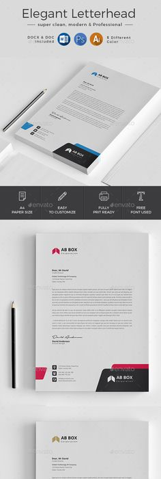 Letterhead Letterhead template, Stationery printing and Print