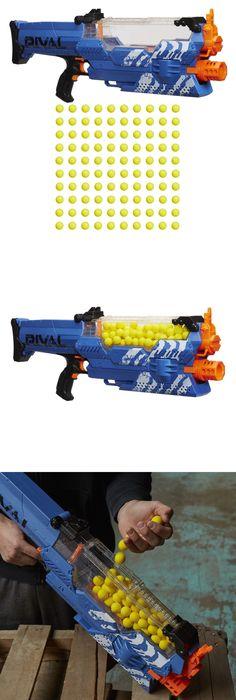Nerf Rival Nemesis MXVII-10K blaster Gun Blue | Common Shopping | Pinterest  | Guns