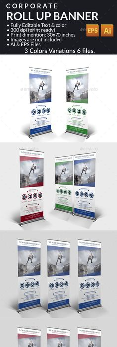 Mobile App Promotion RollUp Banners Vol  Mobile App
