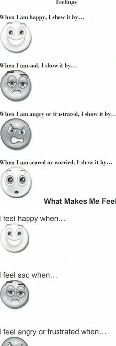 Joyful Learning In KC: Feelings: Angry is..., Happy is..., Scared is ...