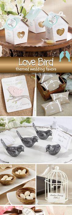 23 diy love birds wedding theme ideas theme ideas place cards and 75 amazing love birds themed wedding favors junglespirit Choice Image