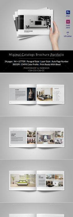 Portfolio Photographer   Brochures, Template and Photographers