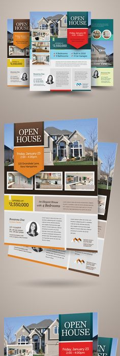 Modern Flyer  For Sale By Owner  Free Flyer Templates Microsoft