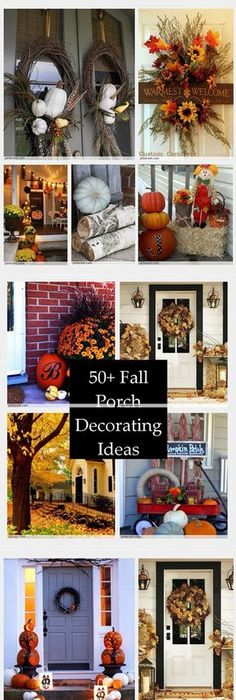 50 Cheap and Easy DIY Outdoor Fall Decorations Outdoor fall - halloween fall decorating ideas