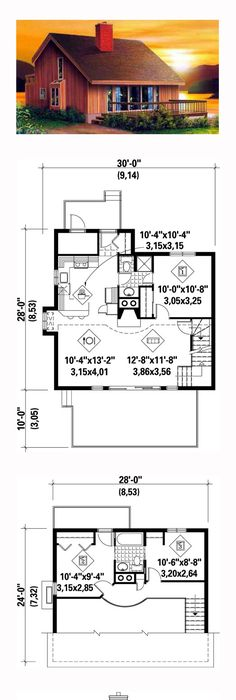 3 bedroom 800 square foot house plans - Google Search FLOOR PLANS