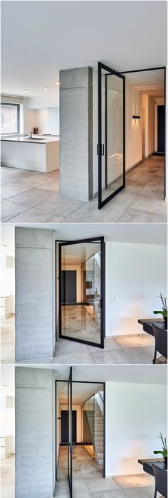 I Am Drawn To Doors That Pivot Repost Spacesmithllp Axis - Porte vitrée sur pivot
