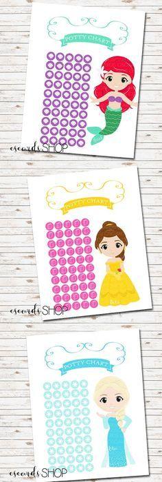 potty chart princess - Apmayssconstruction