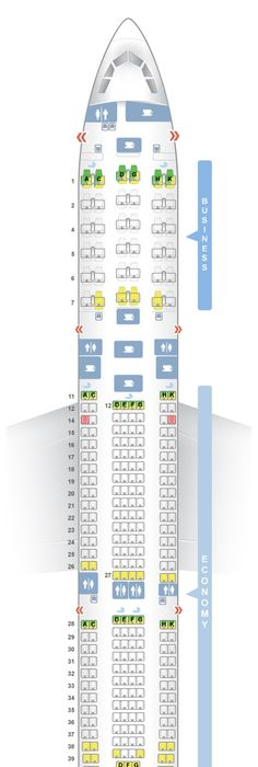 Seatguru Seat Map Delta Airbus A330 300 333 It S All