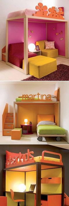 Elegant Awesome Beds for Small Rooms