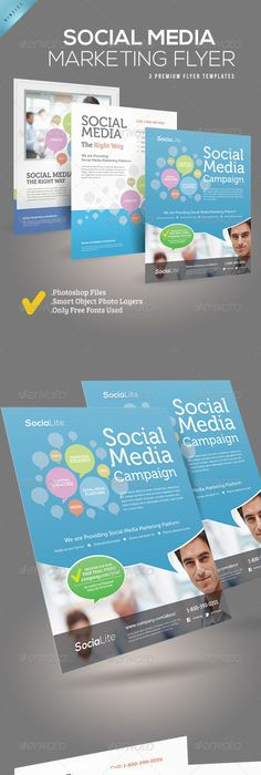 Social Media Marketing Flyer  Marketing Flyers Social Media