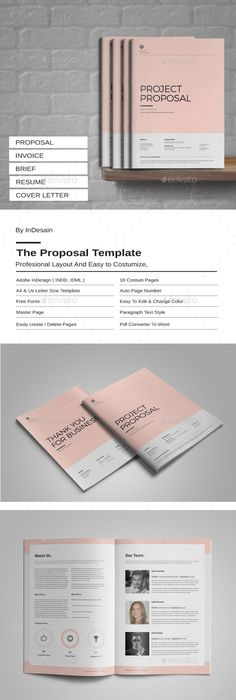 Brief proposal template proposal templates proposals and template flashek