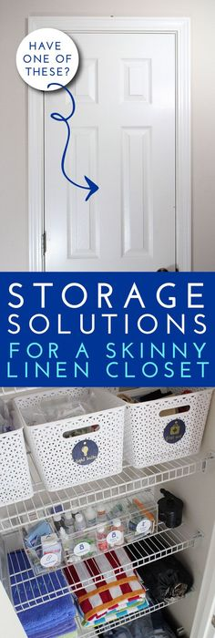 $10 linen closet redo | Linens, Organizations and Organizing