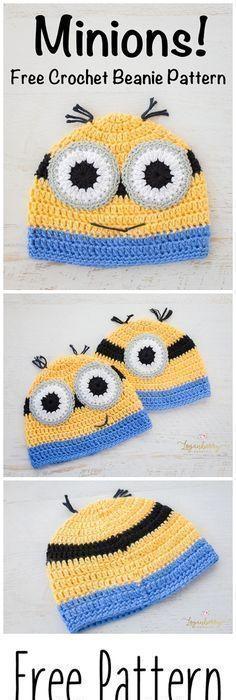Minion Hat Girls Crochet Minion Hat Yellow por PrincesaAnastasia ...