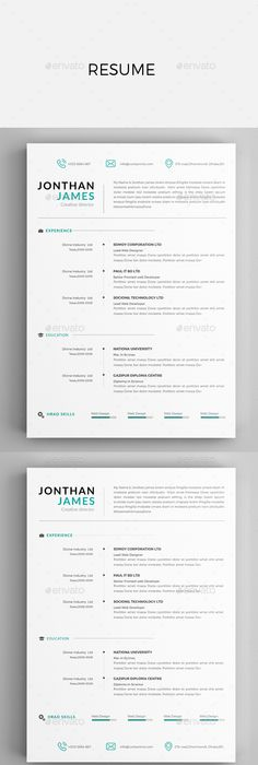 Examples Of Resumes By Enhancv | Projects To Try | Pinterest